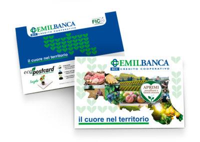 Postcard per Emilbanca