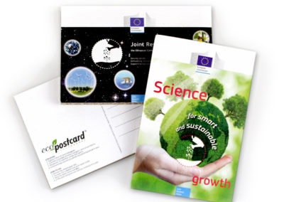 Eco-Postcard per la Comunità Europea